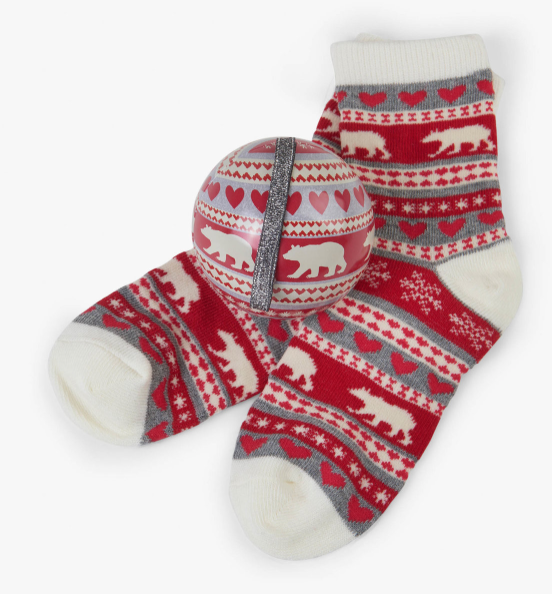 Hatley Sock & Ornament 4-7 years- final sale