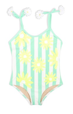 Shade Critters Shade Critters Mint Daisy Sequin