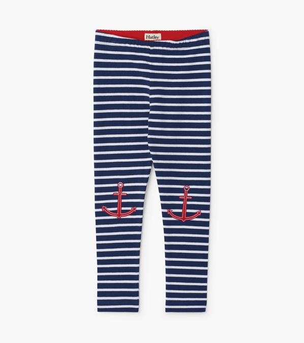 Hatley Hatley Nautical Stripe Legging