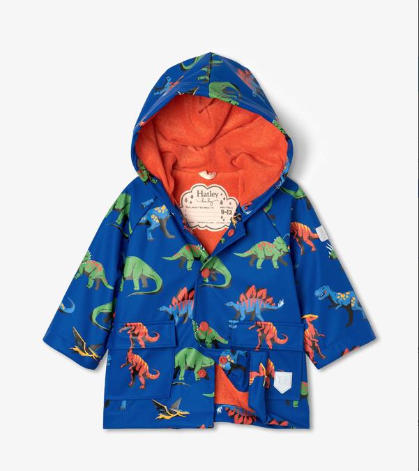 Hatley Hatley Friendly Dino Baby Raincoat