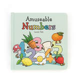 JellyCat Jelly Cat Amuseable Numbers Book