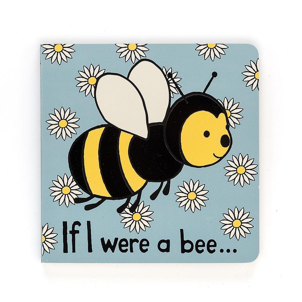 JellyCat Jelly Cat If I Were a Bee Book