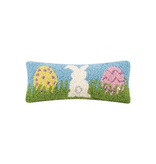 Bunny And Eggs Hook Pillow