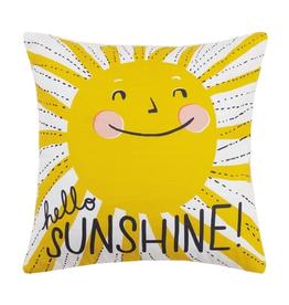 Hello Sunshine Printed Pillow