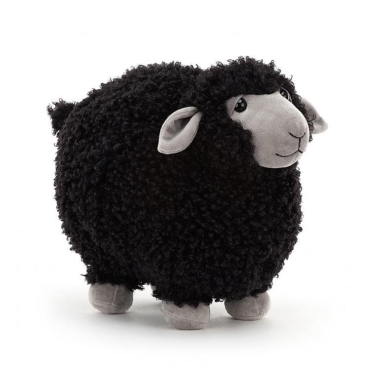 JellyCat Jelly Cat Rolbie Black Sheep Medium