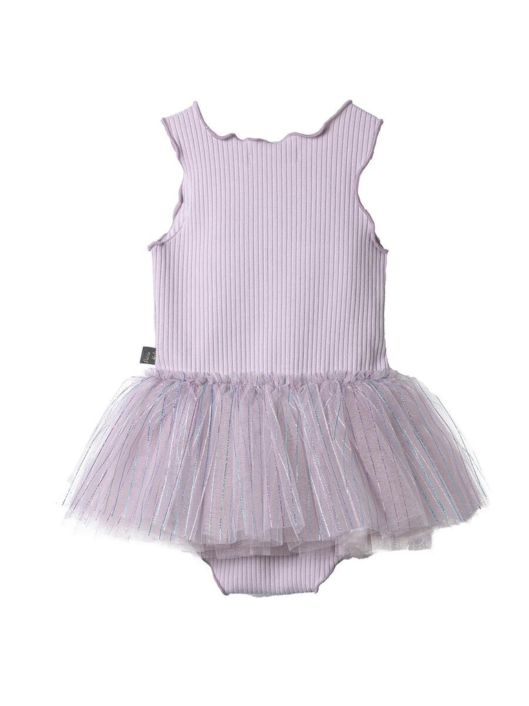 Petite Hailey Petite Hailey Aurora Baby Onesie Tutu