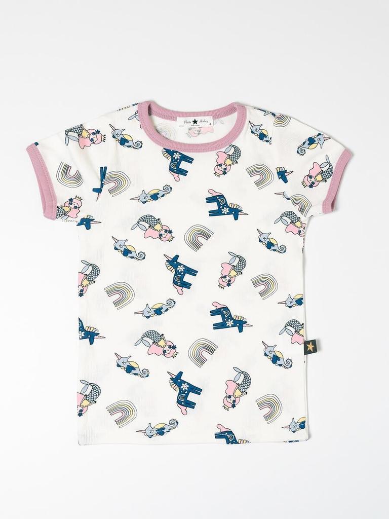 Petite Hailey Petite Hailey Multi Mermaid Tshirt
