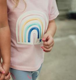 Petite Hailey Petite Hailey Rainbow Tshirt