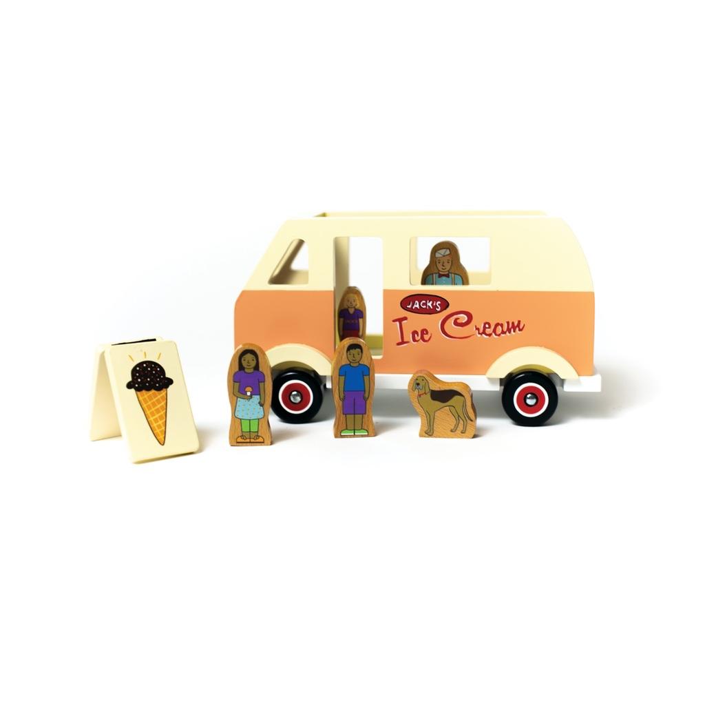 Jack Rabbit Creations Jack Rabbit Sweet Treat Ice Cream Truck Magneti