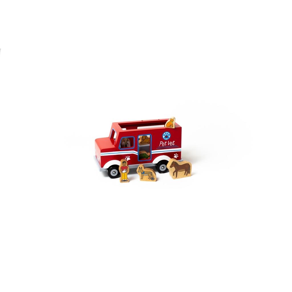Jack Rabbit Creations Jack Rabbit Mobile Pet Vet Magnetic Truck