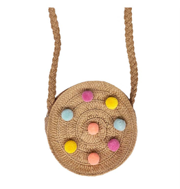 Rockahula Rainbow Pom Pom Cross Body Bag