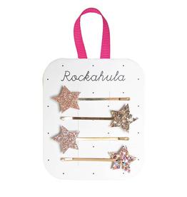 Rockahula Sparkle Star Slides- Golds