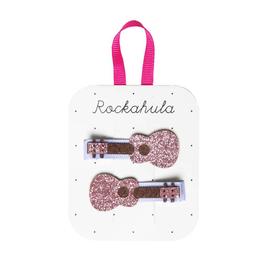 Rockahula Ukelele Glitter Clips
