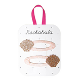Rockahula Seashell Glitter Clips