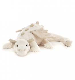 JellyCat Jelly Cat Snow Dragon Medium