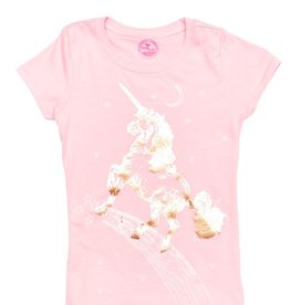 Pink Chicken Pink Chicken Unicorn Graphic Tee