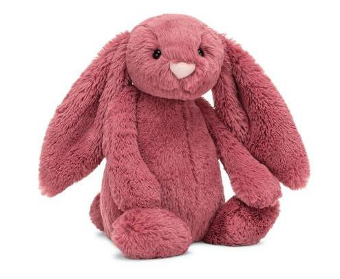 JellyCat Jelly Cat Bashful Dusty Pink Bunny Small