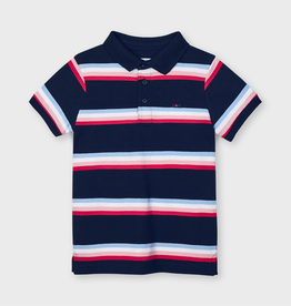 Mayoral Mayoral Striped Polo