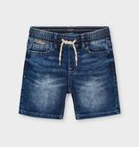 Mayoral Mayoral Soft Denim Jogger Shorts
