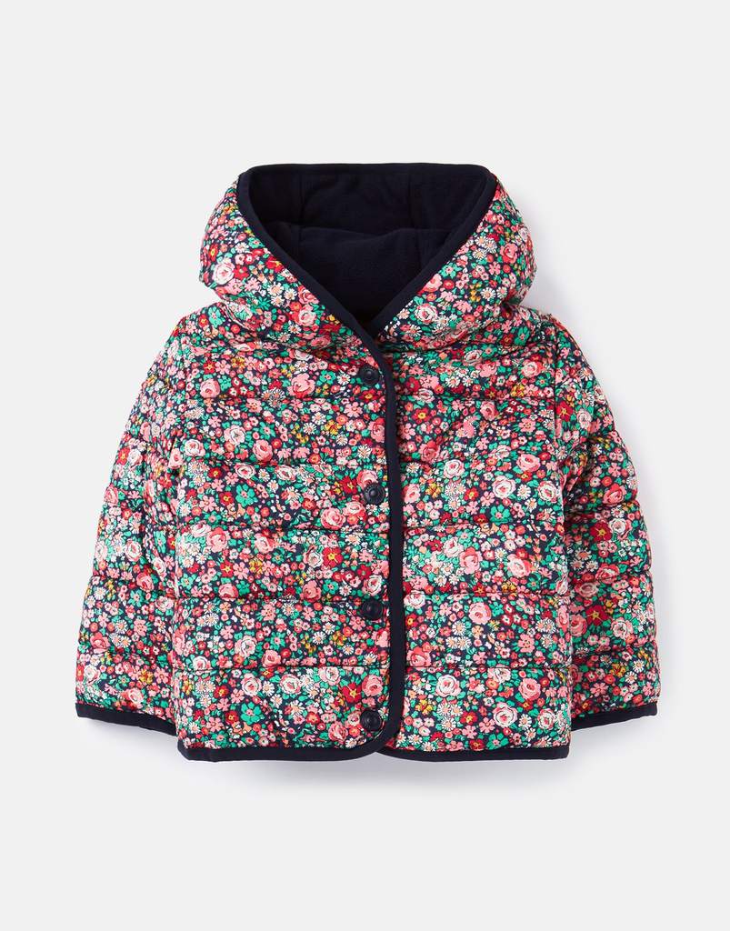 Joules Joules Navy Ditsy Jesse Coat