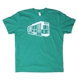 Sidetrack Sidetrack Green Line Short Sleeve Tee  Shirt