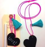 Little Lux Little Lux Chalkboard Heart