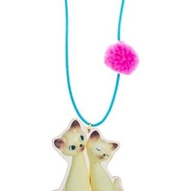 "Little Lux Little Lux ""I am Siamese"" Cat Necklace"