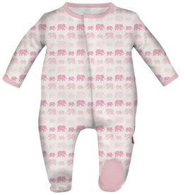 Magnificent Baby Magnificent Baby Dancing Elephants Modal Footie *More Colors*