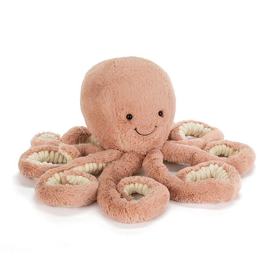 JellyCat Jelly Cat Odell Octopus Little