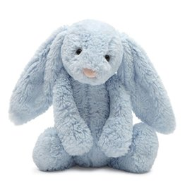 JellyCat Jelly Cat Bashful Blue Bunny with Chime