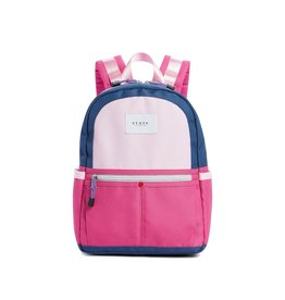 State State Mini Kane Backpack- Navy/Rose