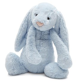 JellyCat Jelly Cat Bashful Light Blue Bunny Huge