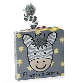 JellyCat Jelly Cat If I were a Zebra Book