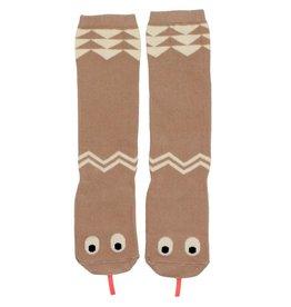 Mini Dressing Mini Dressing Snake Knee Socks