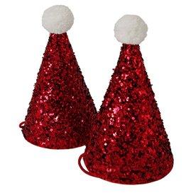 Meri Meri Meri Meri Mini Glitter Santa Hats