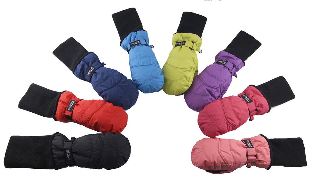 Snow Stoppers Waterproof Snow Stoppers Nylon Mittens 4-8y