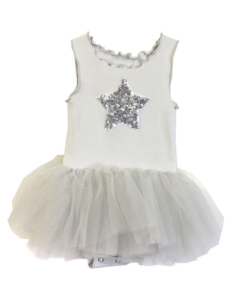 Petite Hailey Petite Hailey Baby Tutu with Star