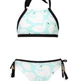 Snapper Rock Snapper Rock Swan Halter Bikini UV50+