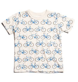 Winter Water Factory Winter Water Factory Short Sleeve Tee- Bicycles