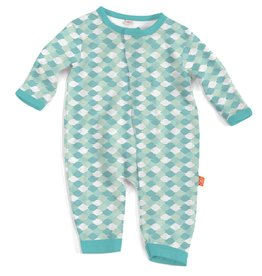 Magnificent Baby Magnificent Baby Mod Fish Modal Coverall *more colors*