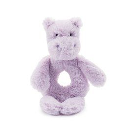 JellyCat Jelly Cat Bashful Hippo Ring Rattle