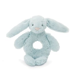 JellyCat Jelly Cat Bashful Beau Bunny Ring Rattle