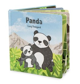 JellyCat Jelly Cat Panda Book