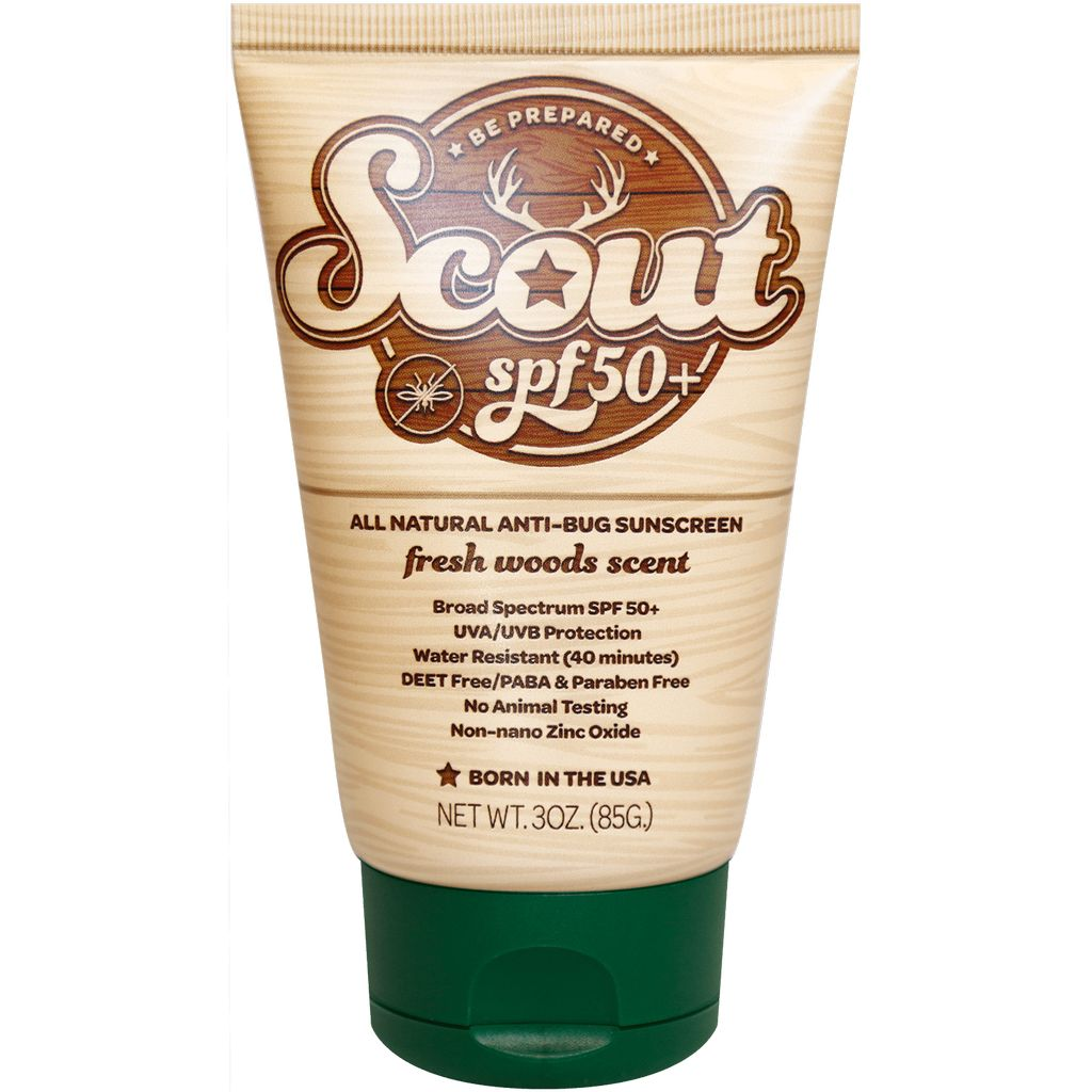 Sunshine & Glitter Scout SPF 50+All Natural Sunscreen with All Natural Bug Repellent