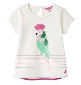 Joules Joules Maggie Parrot Applique Tee Shirt