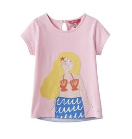 Joules Joules Maggie Mermaid Applique Tee Shirt