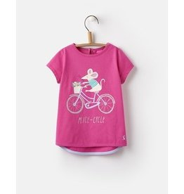 Joules Joules Pixie Mice-Cycle Jersey T-Shirt