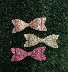Petite Hailey Petite Hailey Glitter Bow Hairpin