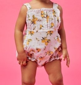 Lil' Lemons Lil' Lemons Bloom Bubble Romper