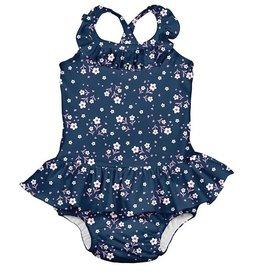 i play i play Posies Ruffle Swim Diaper Swimsuit